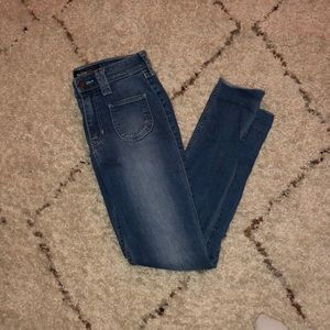 Hollister Crop Highrise